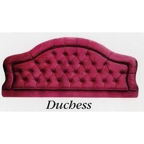 Cama Doble Duquesa Estilo Seda Artificial Cabecero - Púrpura, Matrimonio