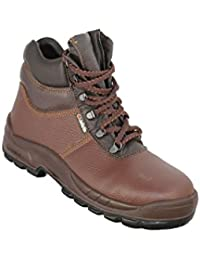 JALLATTE jalfl Ancla X2S3HRO Ci SRC Zapatos de Trabajo Trabajo Guantes de Color Marrón, Color Marrón, Talla 38