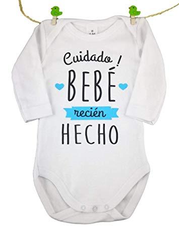 Body Original BEBÉ Cuidado! Bebe Recien Hecho Regalo BEBÉ Manga Larg