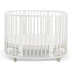 Stokke Sleepi Bed Blanc 120 cm mat. inclus