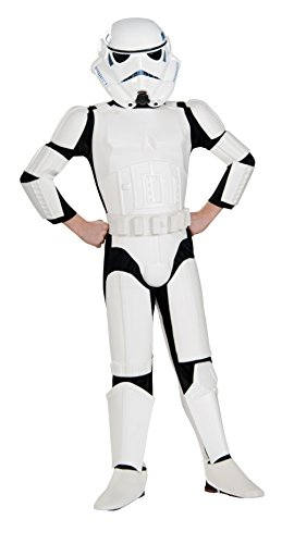 Original Lizenz Star Wars Rebels Stormtrooper Kinderkostüm - Größe S (112-122cm)