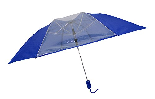 rainkist-mens-auto-open-clear-panel-compact-golf-umbrella-royal-blue