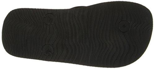 Reef Grom Switchfoot, Sandales Plateforme mixte bébé Noir - Negro (Blue)