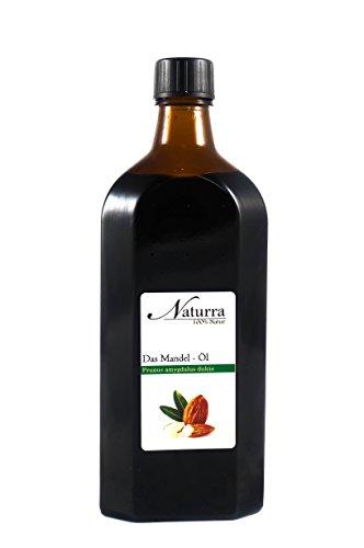 Naturra BIO Mandelöl kaltgepresst 250ml Speiseöl in lichtgeschützter Glasflasche