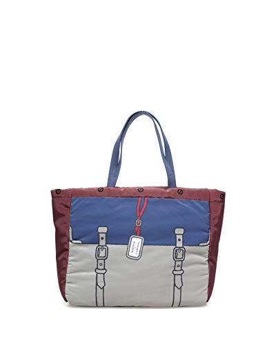 Roberta di Camerino Borsa Shopping Grande Giulia BORDEAUX 943527d3903