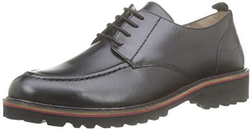 Kickers Rudora, Zapatos de Cordones Derby para Mujer, Negro Noir 8, 38 EU
