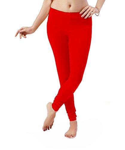 Women's premium leggings, Red