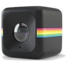 Polaroid Cube HD - Videocámara de acción (Full HD, 6 Mp, 124°), color negro