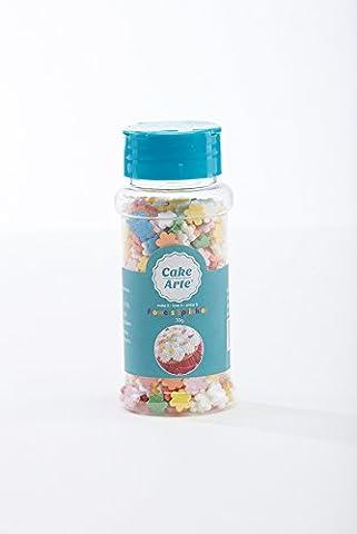 Rainbow Flowers Cake and Cupcake Toppings Sugar Sprinkles Edible Assorted