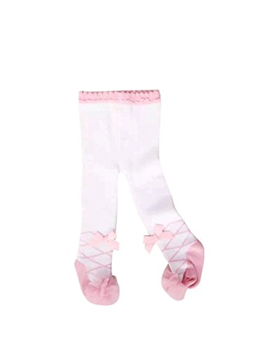 ACVIP Baby Toddler Girl Princess Ballet Tights Legging Stocking (12-18 Months, White)