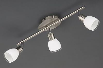Prisma 2937-032 Energiespar Halogen Deckenleuchte 3-flammig Eco-G9-28W Deckenstrahler