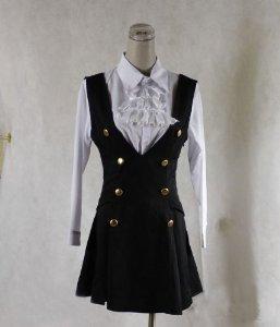 Cosplay Kostüm Karuta - Sunkee Boku SS Karuta Roromiya Cosplay Kostüm , Größe S (Höhe 150cm-155cm, Gewicht 40-45 kg)