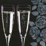 elegante-negro-champan-calidad-divertida-cheers-100-servilletas-3-capas-pliegue-1-4-33-cm-x-33-cm