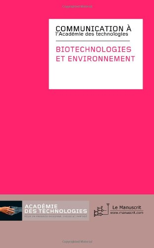 Biotechnologies et environnement