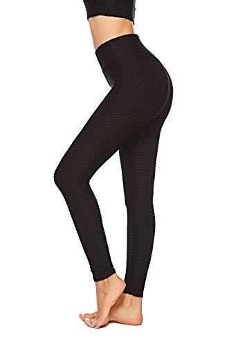 NNDUO Anti-Cellulite Compression Leggings, Women's High Waisted Capris Yoga Pants Cellulite Oppressing Mesh Fat Burner Running Tights Design (Capri Womens Spandex Pants)