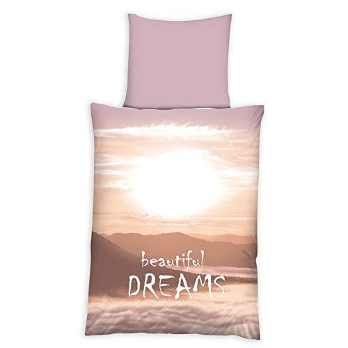 ROLLER homara Microfaser-Bettwäsche Beautiful Dreams - 135x200 cm