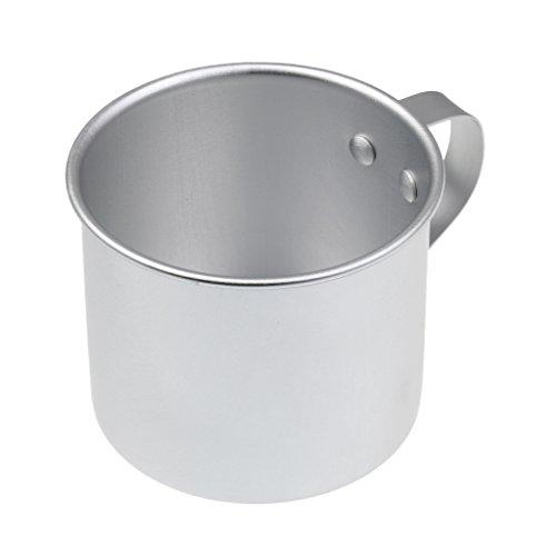 MagiDeal 300ml Camping Kaffee Tee Tasse Aluminium Camping Becher, Im Freien Wassertasse