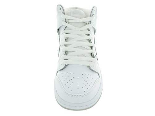 Nike Dunk High Pro Sb Skate-Schuh White/White/Lt Base Grey
