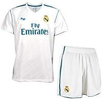 Conjunto niño Camiseta y pantalón Real Madrid 2017-2018 - Replica Oficial con Licencia -