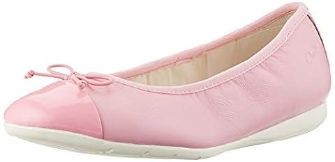 Clarks Mädchen Dance Puff Jnr Geschlossene Ballerinas, Pink (Vintage Pink