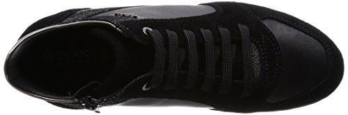 Geox D Myria B, Sneaker, Donna Black
