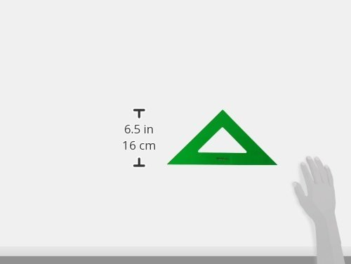 PACK LOTE Faber Castell Técnico – Escuadra 566-32 Cms + Cartabón 666-32 Cms + REGALO