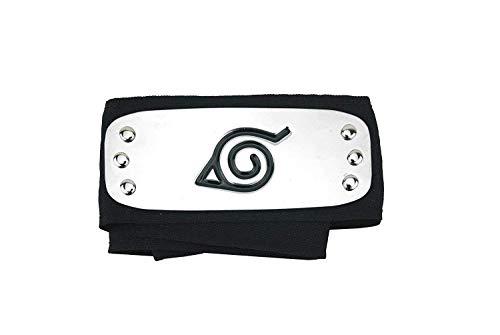 Naruto Konoha Schwarz Anime Ninja Stirnband