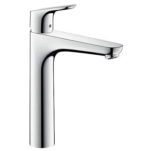 Hansgrohe - Waschtisch-Einhebelarmatur, ohne Ablaufgarnitur, QuickClean, EcoSmart, Chrom, Serie Focus 190