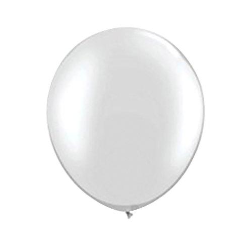 NUOLUX 36 pulgadas gigante globo globo de látex globo para suministros de la decoración del partido (blanco)