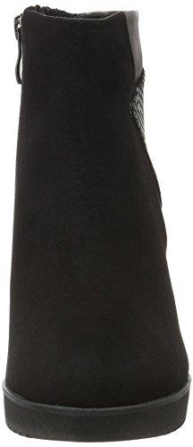 Marco Tozzi 25049, Bottes Classiques Femme Noir (BLACK COMB 098)