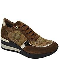 ALVIERO Martini 1°Classe ZA752 524B Sneakers Scarpe Donna CAMOSCIO Zeppa  Natural a4f4d440bb7
