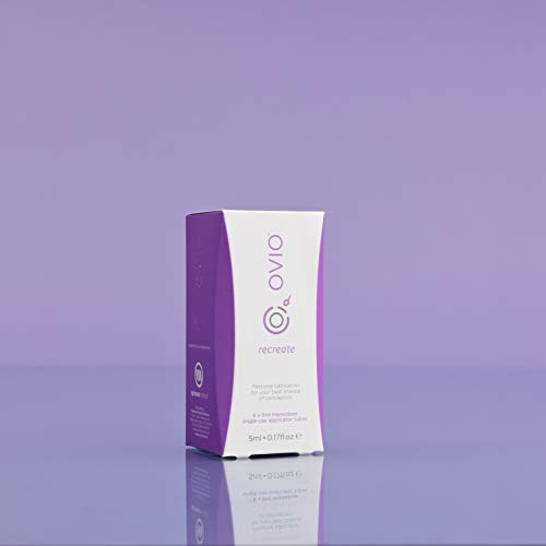 Water-Based-Personal-Fertility-Lubricant-OVIO-Recreate-Fertility-Lubricant-Active-Balance-Lubricant-Gel-in-5g-Applicators-Pack-of-6