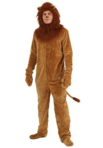 Plus Size Deluxe Lion Kostüm - 3X