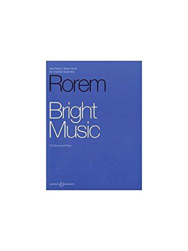 Bright Music -Partition+Parties Separees