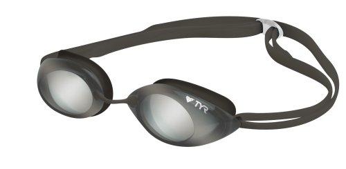 TYR Tracer Racing Metallized Junior occhiali, Argento