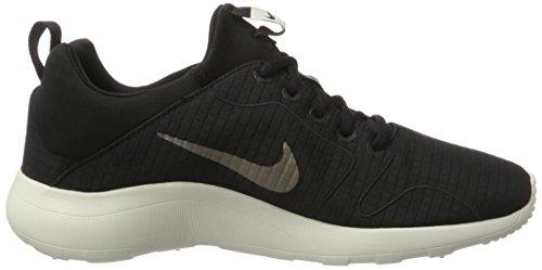 Nike 876875, Scarpe da Ginnastica Basse Uomo Multicolore (Black / Light Bone)