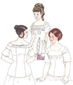 Past Patterns 1850's Early-to neunzehnten Jahrhundert Bleibt
