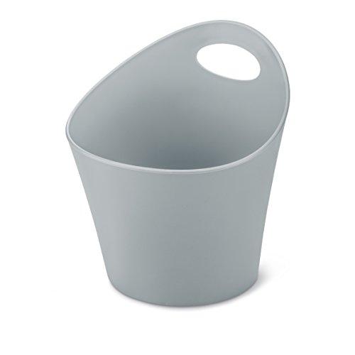 koziol pot à découpe 1,2 l POTTICHELLI M, thermoplastique, gris, 16,2 x 15 x 17 cm