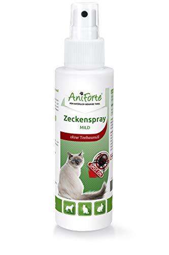 AniForte Zeckenspray MILD 100ml - Naturprodukt für Katzen