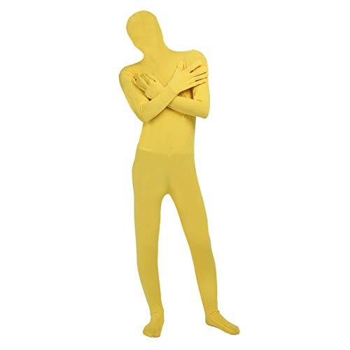 Freebily Unisex Damen Herren Funsuit Ganzkörperanzug Bodysuit Stretch -