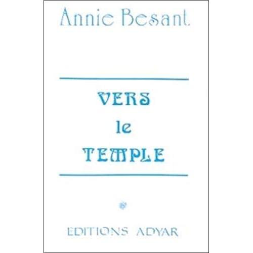 Vers le Temple