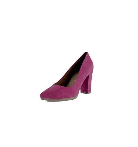 Made In Spain Damen Pumps, Blau - Fuchsia - Größe: 40 EU