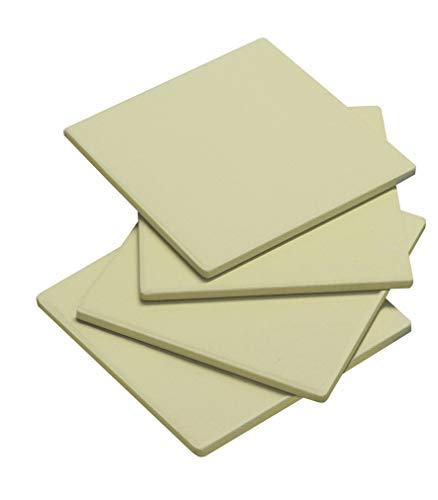 Enders Mini Cordierit - Set di 4 Pietre per Pizza, Colore: Beige