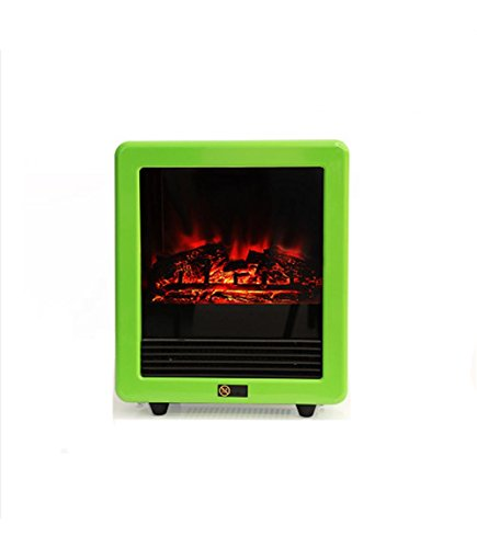 KDLD Mini-Heizung Creative Home Office Desktop Umwelt-Kleine Heizung Simulation Fire Mute Mini elektrische Kamin Heizung , 3