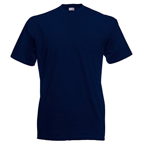 Fruit of the Loom Valueweight T-Shirt Blau - Dunkles Marineblau