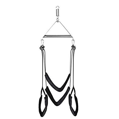 Séx Swivel Swing für Decke für Erwachsene Séx Swing Triangle Set Innenschaukel Set Höhenverstellbar Lebensdauer Schaukel Kit Unterstützung 400 Pfund 2 Schaukel Set Paare Swing für verschiedene Pose - Würfel Pfund 2