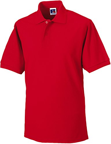 Russell - Robustes Pique-Poloshirt - bis 6XL / Bright Red, L L,Bright Red