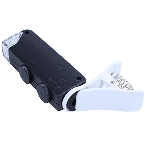 TOOGOO 60X-100X Optischer Zoom Handy Led Mikroskop Objektiv Mit Universal Clamp Für 7 7 Plus 6 S Plus 6 S 6 6 Plus 5 5 C 5 S, Galaxy S5 G900H S4 I9500 S3 I9300 Ect