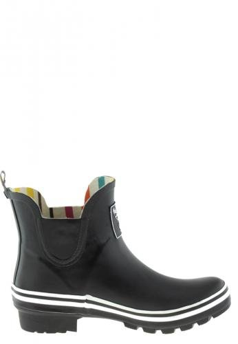 Evercreatures Ladies Festival Ankle Knee Wellies in Various Sizes and Colors Black