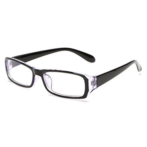Zhhlaixing Unisex Universal Eyeglasses Square Full Frames Flat Glasses Spectacles Frame Mode